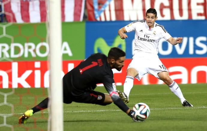 James Rodriguez  Atlético de Madrid e Real Madrid (Foto: Agência EFE)