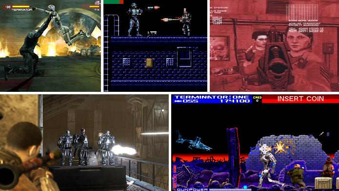 Veja os melhores jogos adaptados dos filmes da série O Exterminador do Futuro (Arte: Daniel Ribeiro)