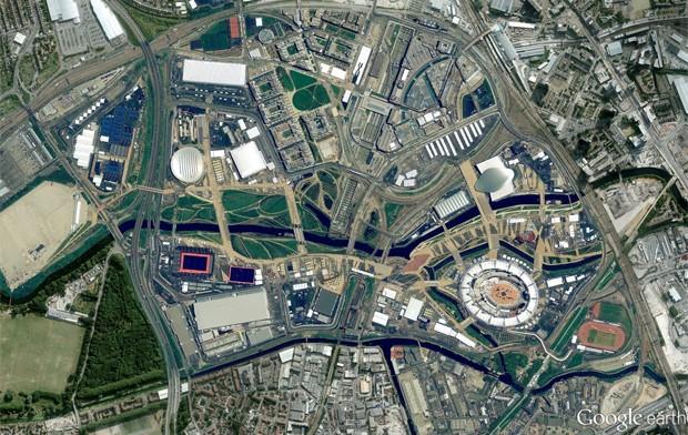 Imagens de Londres também foram atualizadas no Google Earth (Foto: Reprodução)