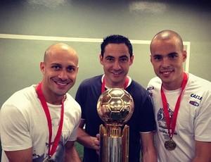 Alessandro, Chicão e Júlio César (Foto: Reprodução/Instagram)