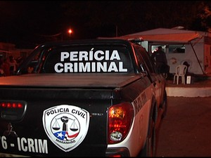Posto da PM na Vila Nova, em São Luís (Foto: Reprodução/TV Mirante)