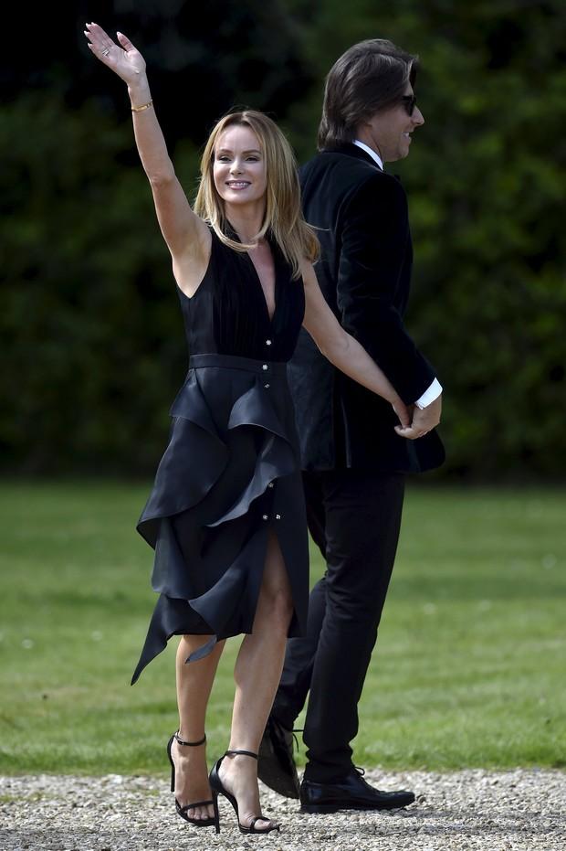 Amanda Holden e o marido Chris Hughes (Foto: Reuters)