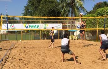 Leo/Eduardo e Erlane/Quemile conquistam 1ª etapa do Vôlei de Praia