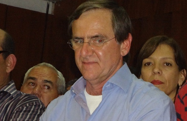 Candidatura de Antônio Gomide ao governo de Goiás é lançada pelo PT (Foto: Sílvio Túlio/G1)