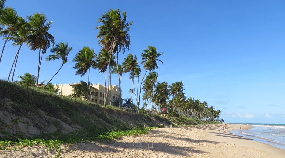 A Praia do Forte, próxima a Salvador, será o cenário da 13ª Convenção ABF do Franchising (Foto: Mariana Iwakura)