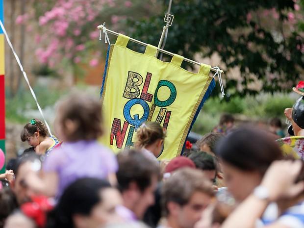 Banda do Bloquinho em Pinheiros (Foto: Cristina Novinsky/Futura Press/Estadão Conteúdo)