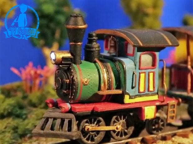 Trem das Antas (Foto: Meu Pedacinho de Chão/TV Globo)
