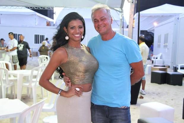 Brisa Ramos e Kadu Molinterno (Foto: Reprodução/Facebook)