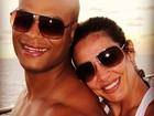 Scheila Carvalho posta foto com o marido e se declara: 'Eu te amo'