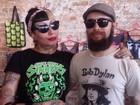 Carnaval reúne amantes do rock  (Alana Fonseca/G1)