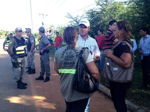 negociação castanheira (Foto: Rayssa Natani/ G1)