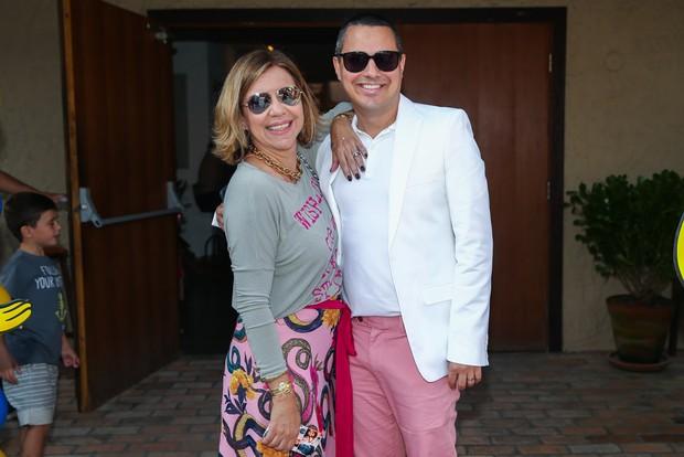 Astrid Fontenelle e Fausto Franco (Foto: Manuela Scarpa / PhotorioNews)