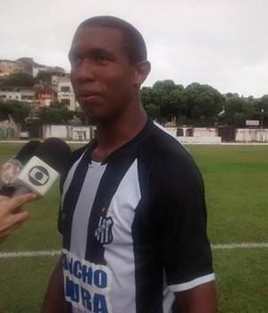 Rodrigão, vice-artilheiro da Pantera com 4 gols, volta ao time contra o Tricordiano. (Foto: Diego Souza/Globoesporte.com)