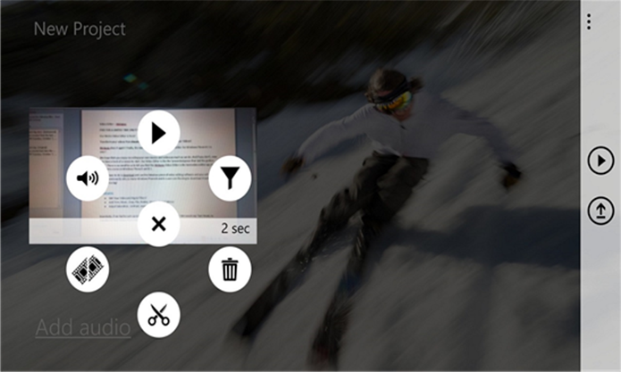 Metapps é um editor de vídeos simples, mas bastante funcional para Windows Phone (Foto: Divulgação/Windows Phone Store)