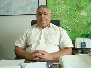 Diretor técnico da Sudema Ieure Amaral (Foto: Jhonathan Oliveira/G1)