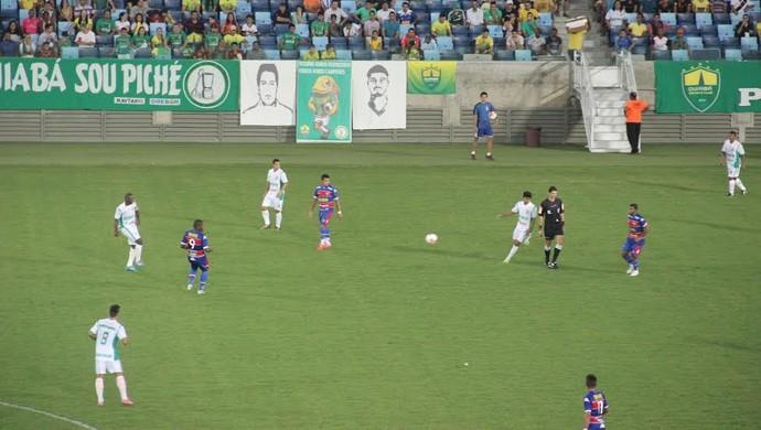 Fortaleza, Cuiabá, Série C, Arena Pantanal (Foto: Felipe Lima/CuiabáEsporteClube.com)