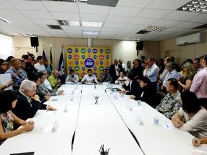 Lançado projeto de IPTU Verde em Salvador (Foto: Valter Pontes/Agecom)