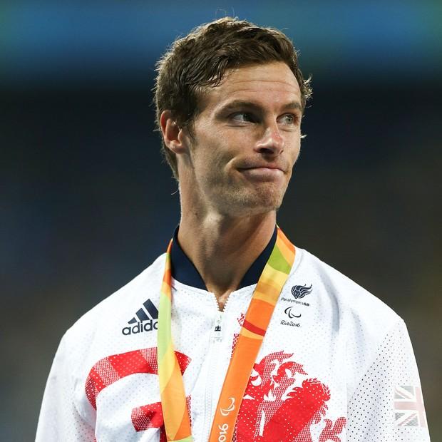 Paul Blake nos Jogos Paralímpicos do Rio  (Foto: getty images)