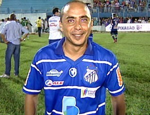 Erich Bonfim, técnico do São Mateus (Foto: Reprodução/TV Gazeta Norte)