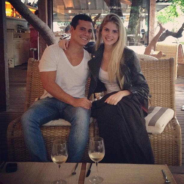 Barbara Evans e namorado (Foto: Instagram / Reprodução)