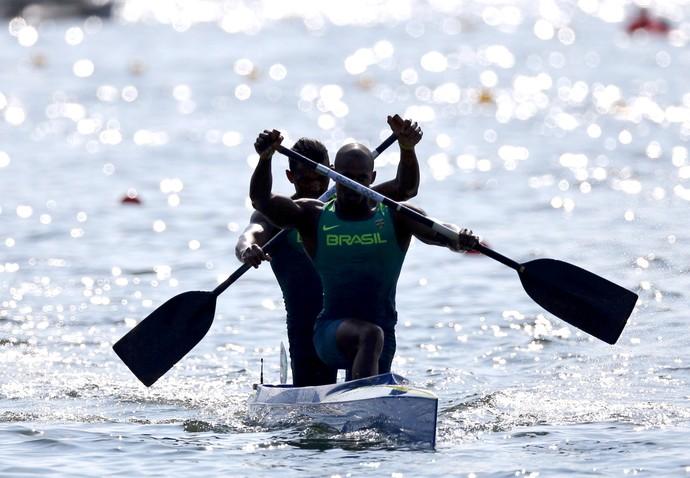 Erlon Souza e Isaquias Queiroz Canoa Dupla (C2) 1.000m  (Foto: Agência Reuters)