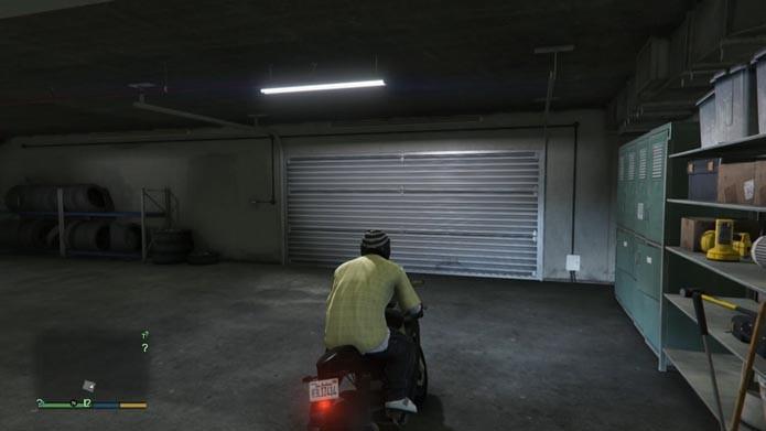 Retire o novo veículo na garagem (Foto: Reprodução/Murilo Molina)
