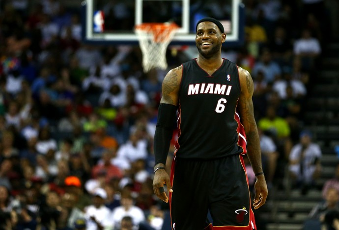 Lebron James Miami NBA (Foto: AFP)