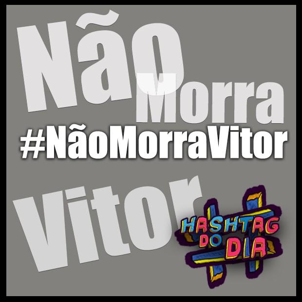 #HashtagDoDia: NaoMorraVitor (Foto: Malhação / TV Globo)