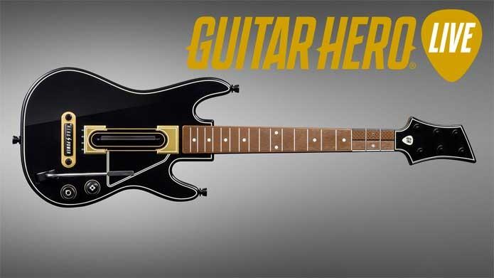 A nova guitarra de Guitar Hero (Foto: Divulgação/Activision)