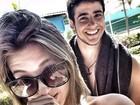 Tereza Brant usa rede social para dar os parabéns para a namorada