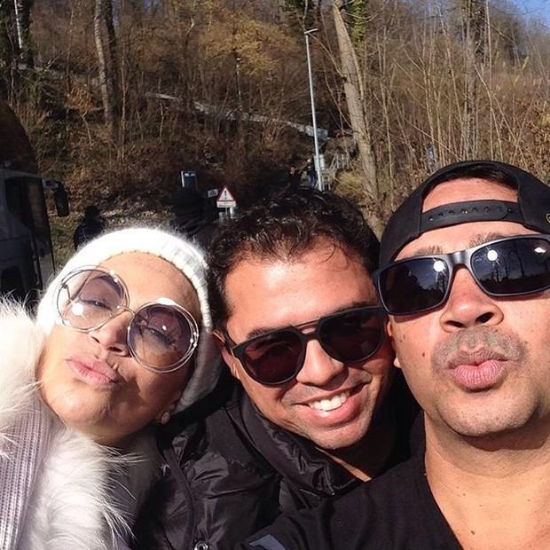 Solange Almeida, Xand e Riquelme (Foto: Reprodução/Instagram)