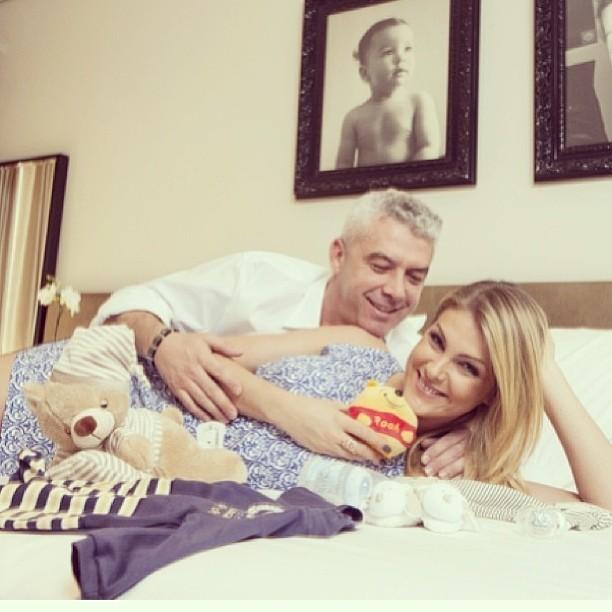 Ana Hickmann e o marido (Foto: reprodução/Instagram)