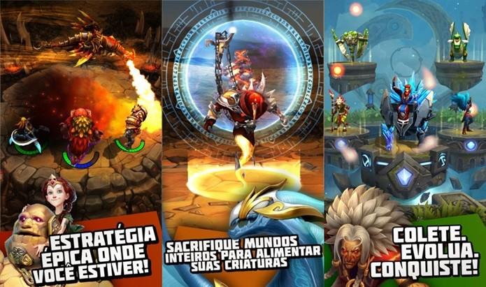 Gráficos incríveis e combates em turnos esperam você em um jogo em português (Foto: Divulgação)