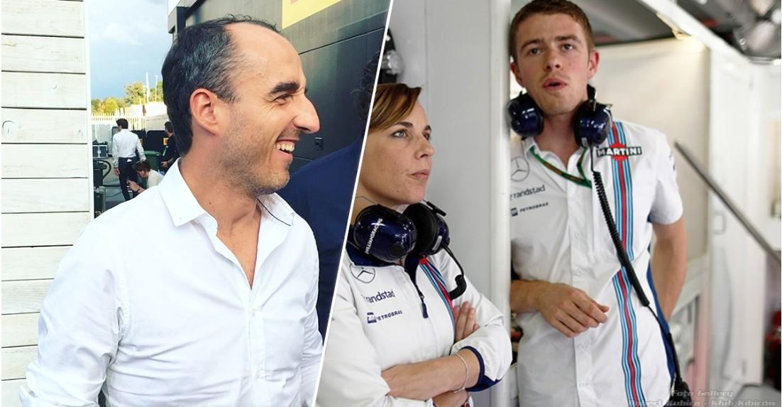 Kubica e di Resta estarão testando o carro de Williams em Hungaroring para temporada de 2018 (Foto: Reprodução/robertkubica-klubkibicow.pl)