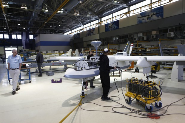Fábrica de Drones (Foto: Pierre Terdjman)