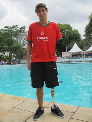 Talisson Glock natação Paralimpíadas Escolares  (Foto: Ana Carolina Fontes / Globoesporte.com)