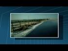 Vídeo mostra mar do Farol invadindo propriedade em Campos, no RJ