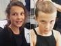Millie Bobby Brown, de 'Stranger Things', posta vídeo raspando o cabelo