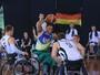 Brasil vence desafio contra Alemanha no basquete em cadeira de rodas