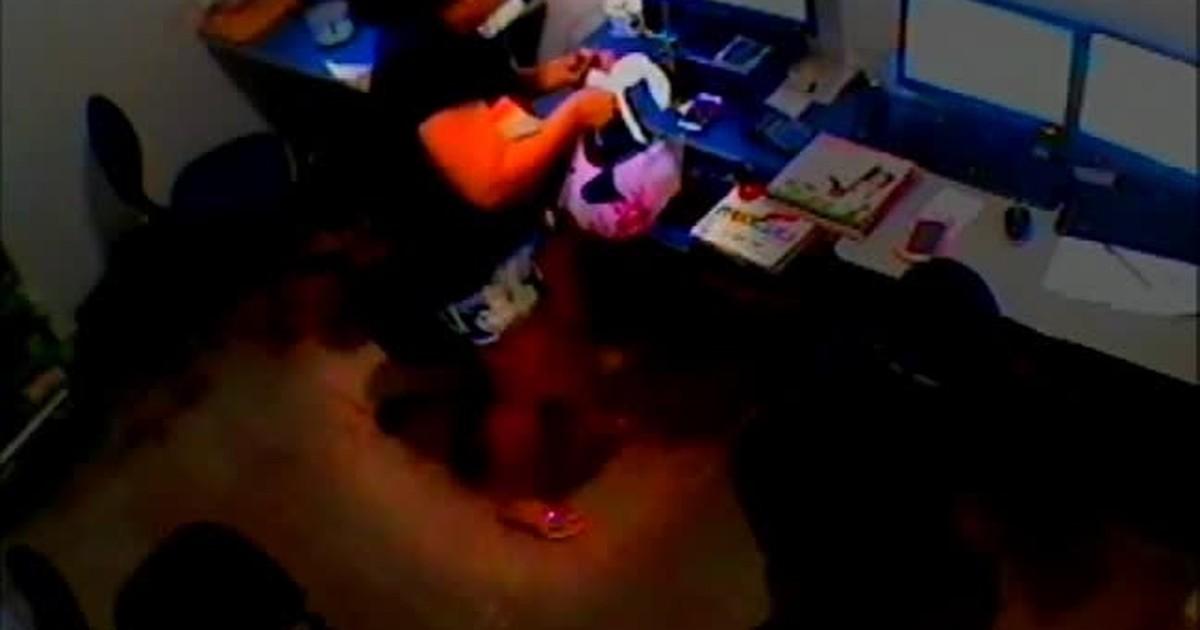 af8fb7c094f8 G1 - Câmera de segurança flagra furto de celular dentro de loja em Palmas -  notícias em VC no G1 TO