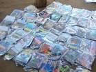 Polícia Civil apreende 26,9 mil discos piratas em galeria de Piracicaba, SP