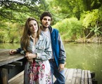 Isabelle Drummond é Helô e Chay Suede, Pedro, na primeira fase de 'A lei do amor' | Globo / João Miguel