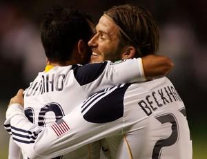 Juninho Beckham Los Angeles Galaxy (Foto: Getty Images)