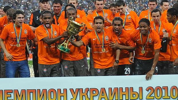 willian shakhtar donetsk campeão ucrânia (Foto: Divulgação / Flickr do jogador Willian)