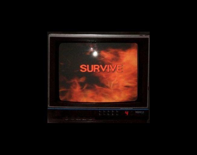 Survive, o grupo por trás do tema de 'Stranger Things' (Foto: Reprodução/Facebook)