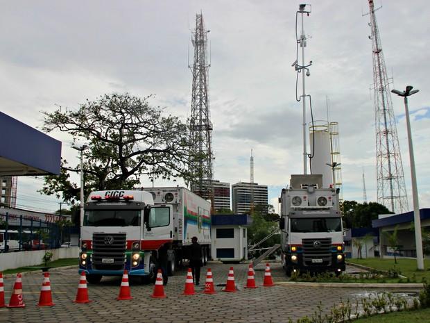 Unidades móveis serão levadas para locais dos eventos (Foto: Adneison Severiano/G1 AM)