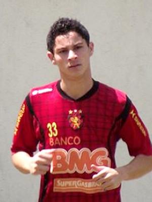 diogo novo reforço sport (Foto: Divulgação Site Oficial do Sport)