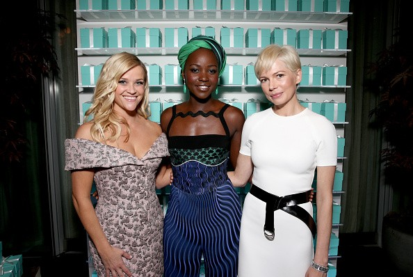 Reese Witherspoon, Lupita Nyong'o e Michelle Williams (Foto: Getty Images)
