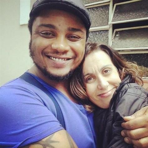 Danilo de Moura e Márcia Cabrita farão 'Meu amigo encosto' (Foto: Divulgação)