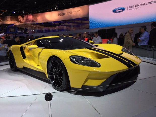 Ford apresenta GT, nova geração do Mustang (Foto: André Paixão/G1)